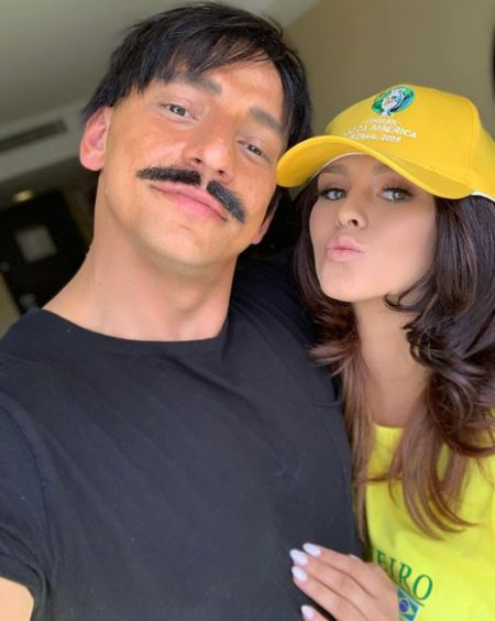 Vitaly Zdorovetskiy and Kinsey Wolanski tried to streak during the Copa America finals but failed.