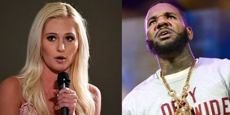 The Game accused Tomi Lahren of plastic surgery.