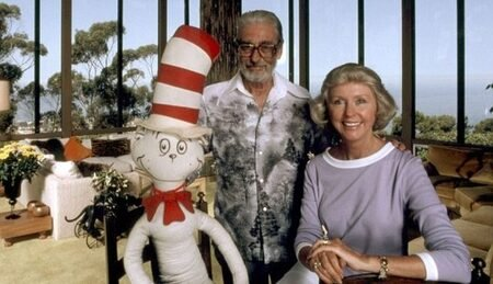 Dr. Seuss had an affair with Audrey while he was still married to his wife Helen.