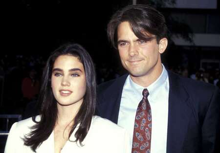 Jennifer Connelly and Billy Campbell.