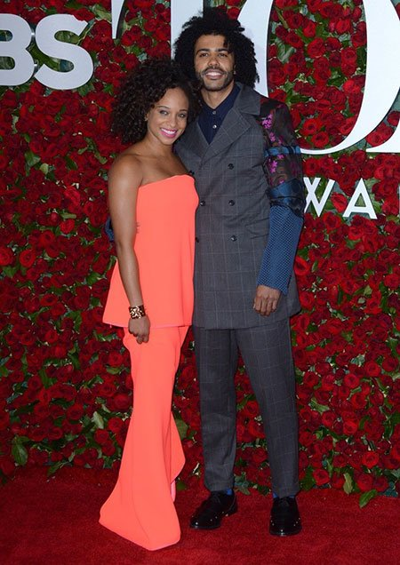 Daveed Diggs is dating girlfriend Jalene Goodwin for several years.