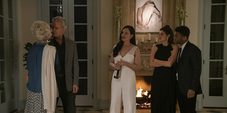 Paul James said it was amazing to work with a movie star like Madeleine Stowe.