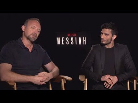 Messiah creator Michael Petroni and the titular star Mehdi Dehbi collaborated to bring the character to life.