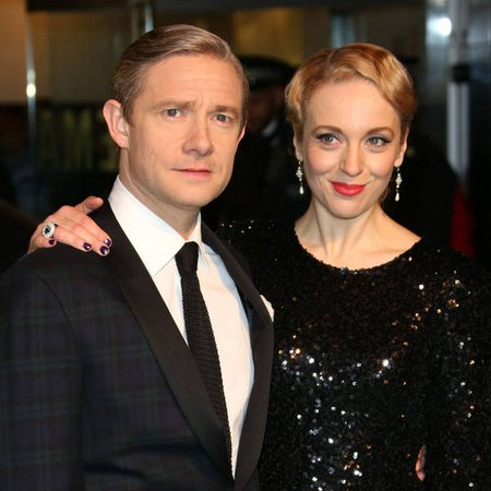 Martin Freeman divorced his wife Amanda Abbington for 16 years.