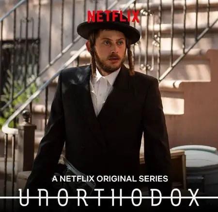 Amit Rahav plays Yakov Shapiro in the Netflix series Unorthodox.