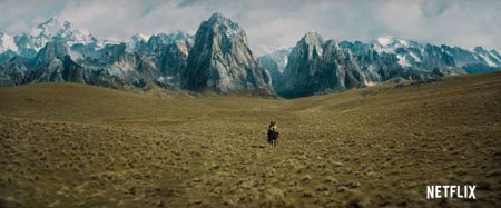 The Letter for the King filming location includes the sweeping landscape of New Zealand.