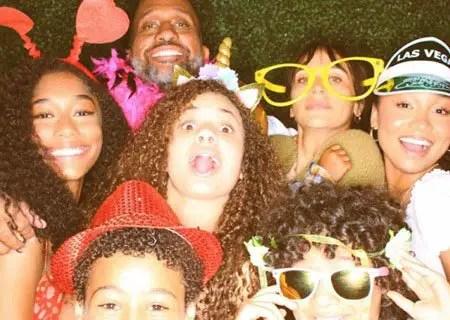 Iman Benson plays Drea Barris in the Netflix series Black AF aka #blackAF.