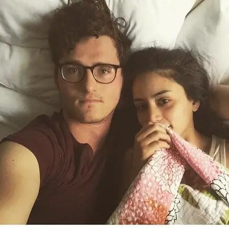 Michelle Veintimilla with her former boyfriend Michael Mackenzie McGuire.