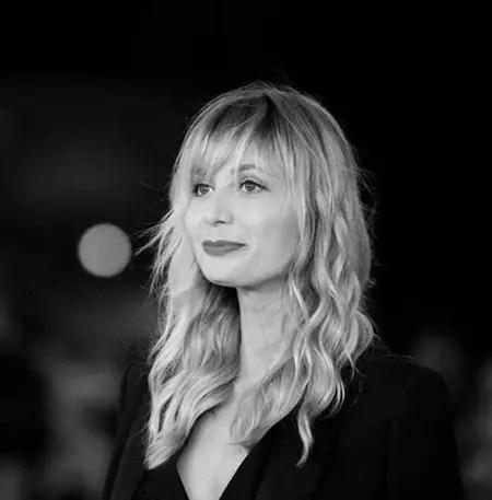 Anna Ferzetti plays Klara in the Netflix series Curon.