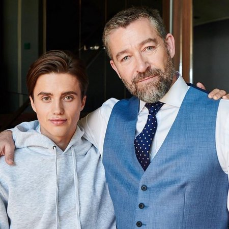 George Sear plays Parker Roscoe in the Amazon series Alex Rider.