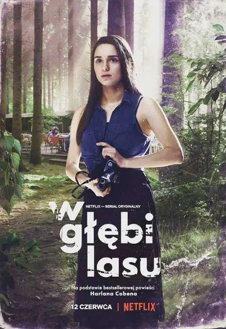 Wiktoria Filus plays Laura Goldsztajn in the Netflix series The Woods.