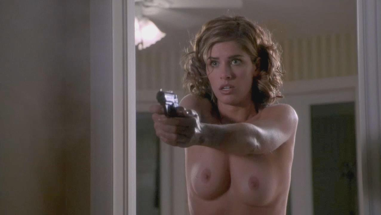 amanda peet whole yards nude scene
