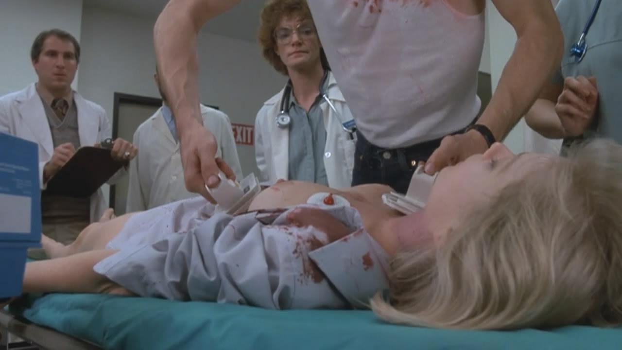 Barbara crampton in reanimator - 1 part 8