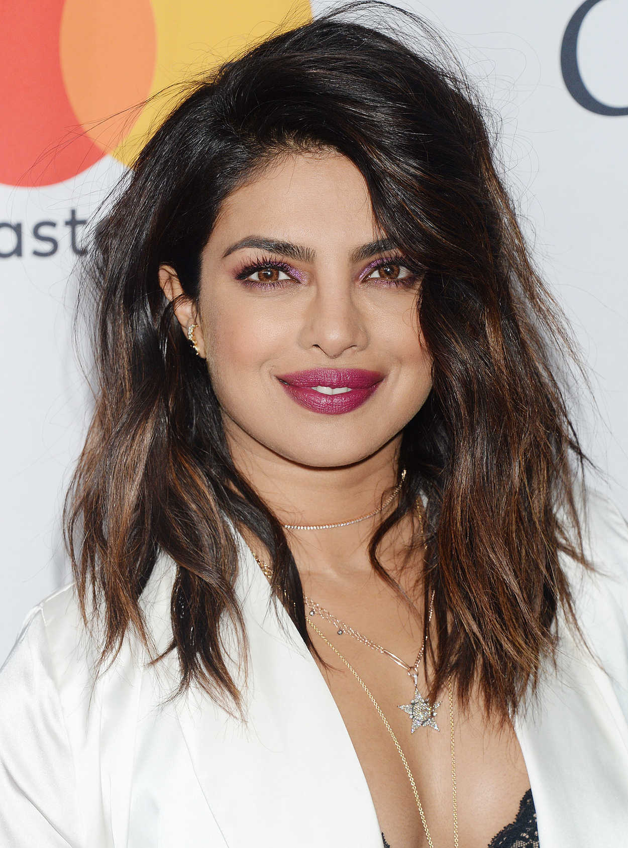 Priyanka Chopra At The Clive Davis And Recording Academy