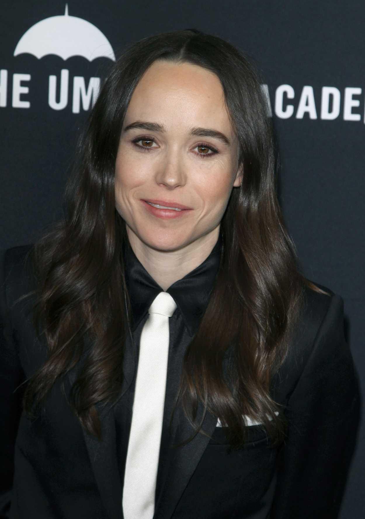 Ellen Page Attends The Umbrella Academy Tv Show Premiere
