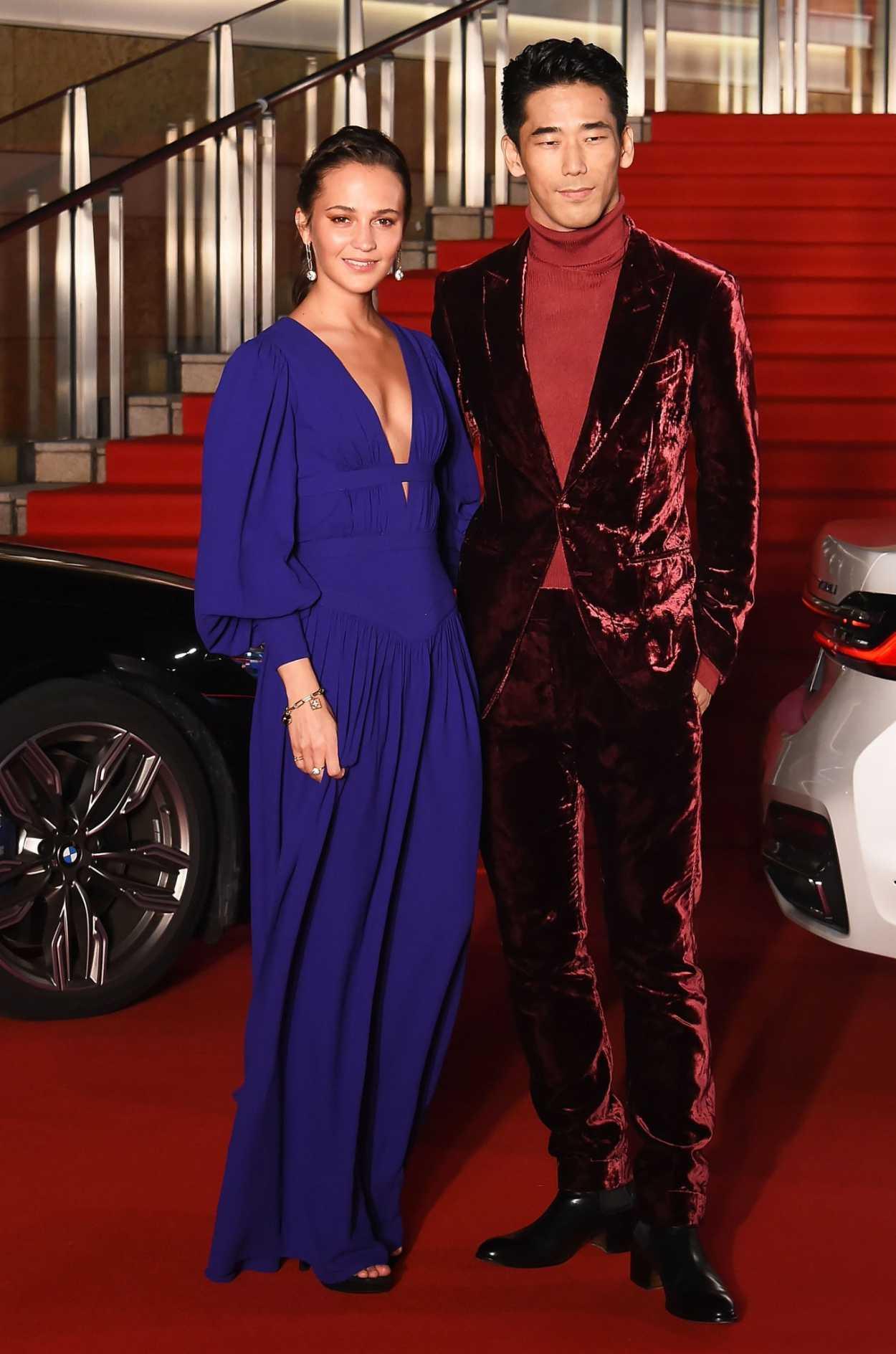 Alicia Vikander Attends 2019 Tokyo International Film