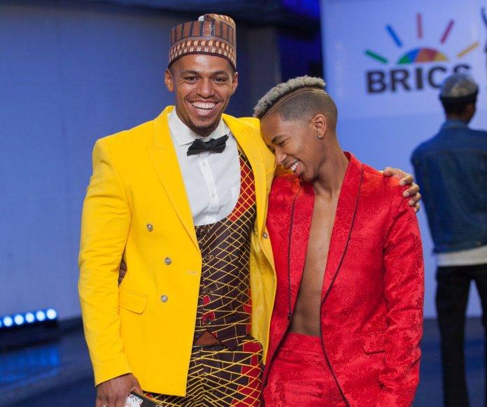 Lasizwe and Cedric Fourie