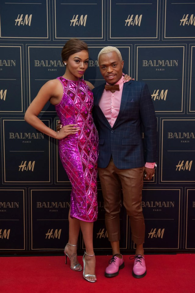 Somizi and Bonang Matheba