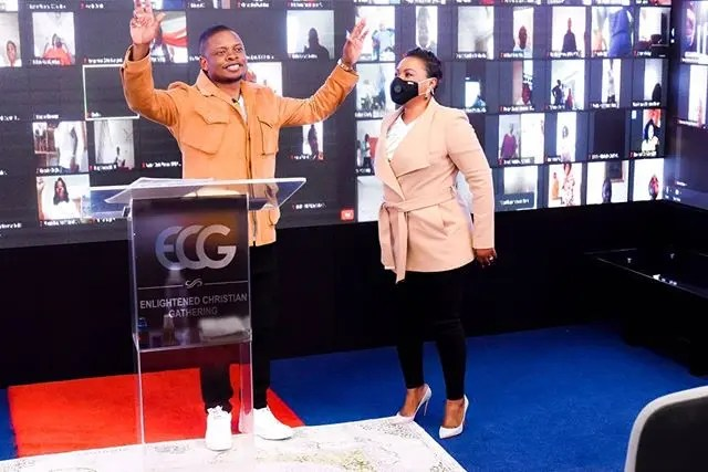 Bushiri and Wife