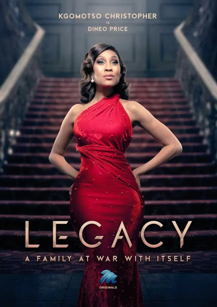 WATCH: Kgomotso Christopher Introduces Us To Her New Character As Dineo Price On Mnet's 'Legacy'