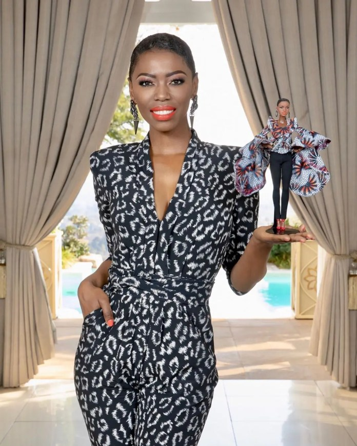 Lira celebrates being the first African woman to be honoured with a Barbie doll in her likeness