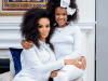 Pearl Thusi and daughter, Thando