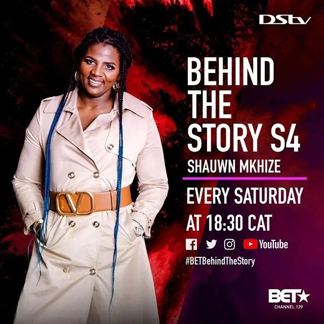 Shauwn Mkhize announced as this week's guest on BET Africa's Behind The Story