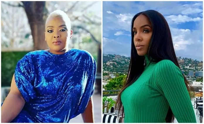 Media personality Anele Mdoda gets dragged Into Kelly Roland's Pregnancy Announcement