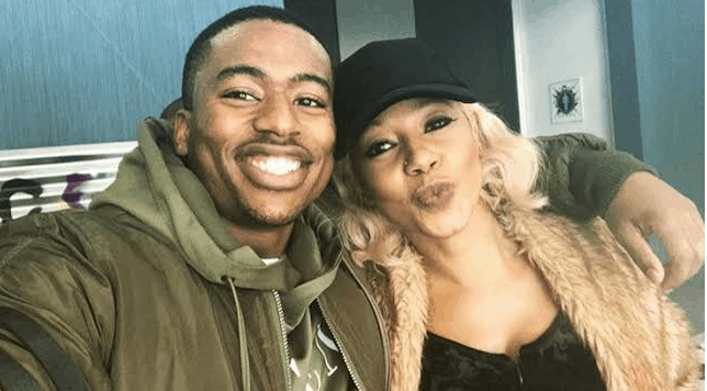 Kelly Khumalo and Rhythm City's Mzii Share Their Chemistry