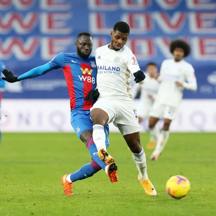 Crystal Palace and Leicester City play out to a 1-all draw