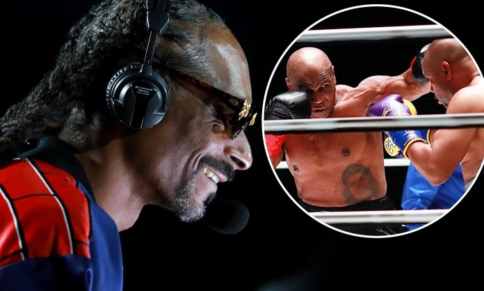 Tyson fight: Snoop Dogg turns his hand to boxing commentary