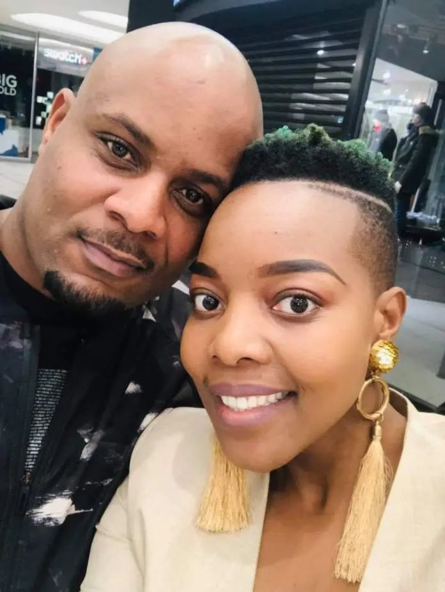 Nomcebo Zikode and husband