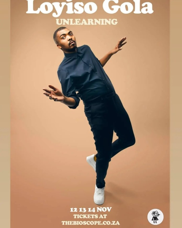 Comedian Loyiso Gola's Unlearning Is Coming To Netflix