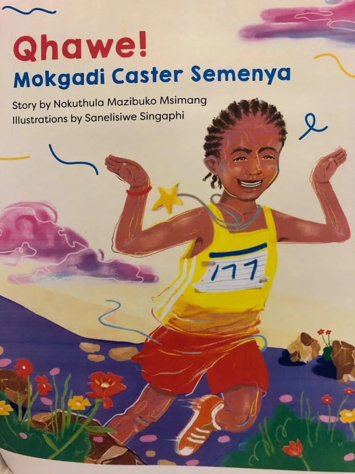 Author pens book on Olympic gold medalist Caster Semenya