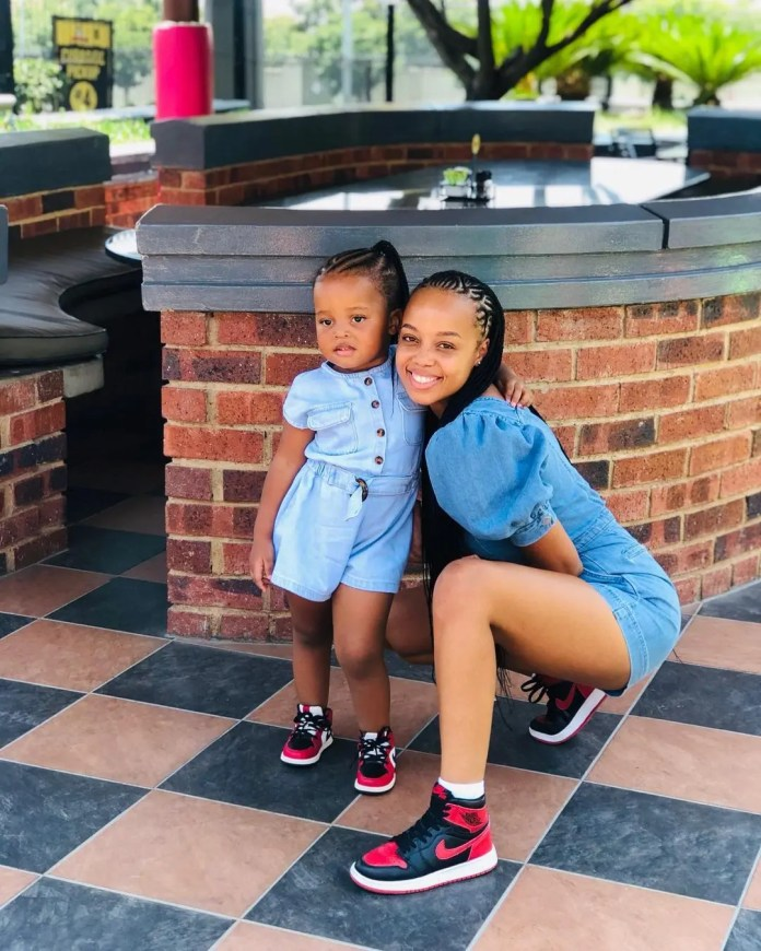 Photos: The Queen Mzansi Actors And Their Children