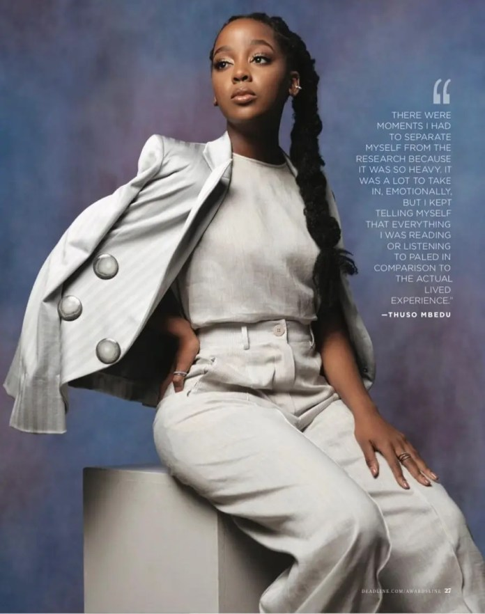 Thuso Mbedu bags another International magazine cover – Pictures