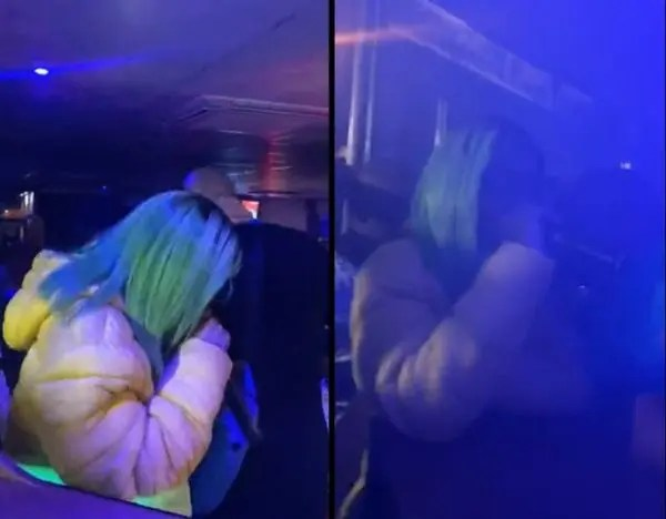 Video: Crowd begs heavily pregnant Babes Wodumo to perform at a recent gig