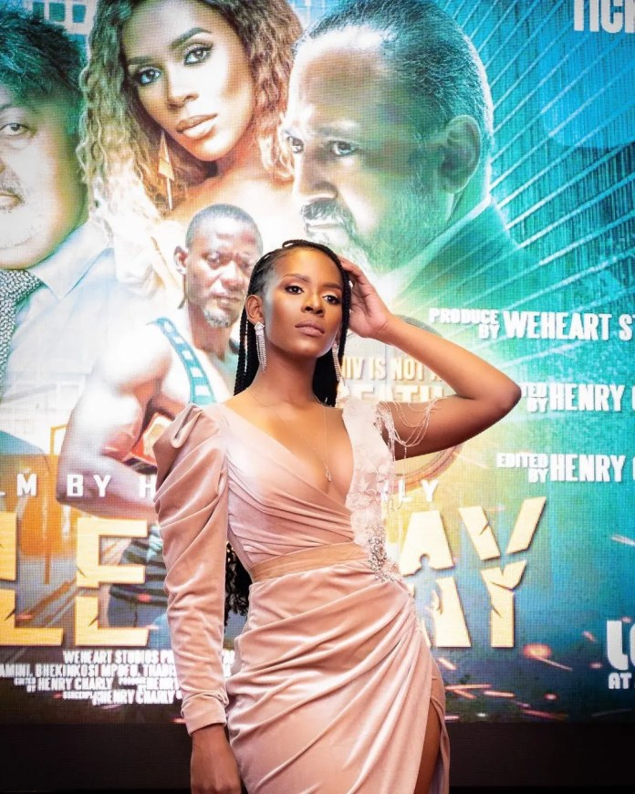 Actress Thabisile Zikhali bags leading role in upcoming movie