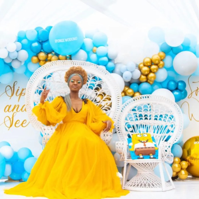 Inside Babes Wodumo's meet and greet Sponge themed party – Photos