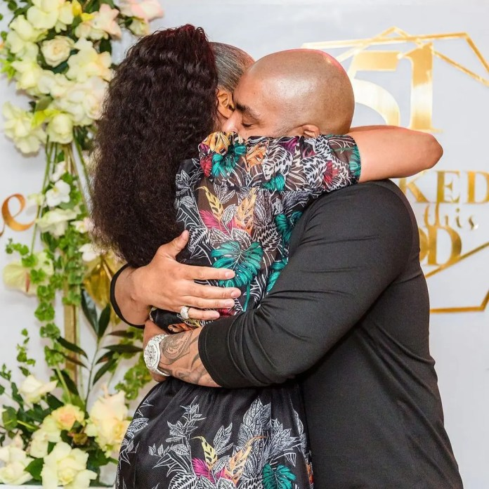 Actress Connie Ferguson remembers hubby, Shona Ferguson 2 months after his passing