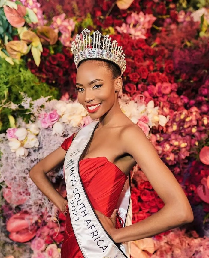 Things to know about the new Miss SA 2021