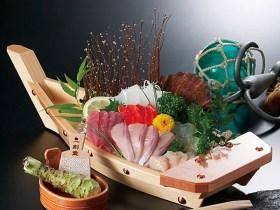 【業務用】日本製天然木船盛り~旅館・民宿・料亭用