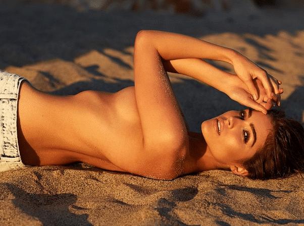 Watch Online | Olivia Culpo Poses for Treats Magazine!