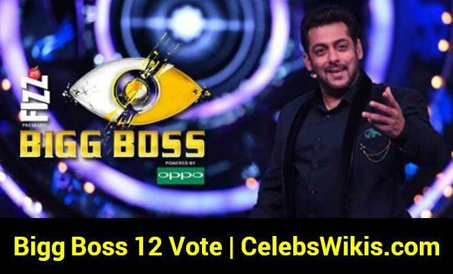 Bigg Boss 12 Vote (Online Voting Poll), Voting Results, Eviction Details