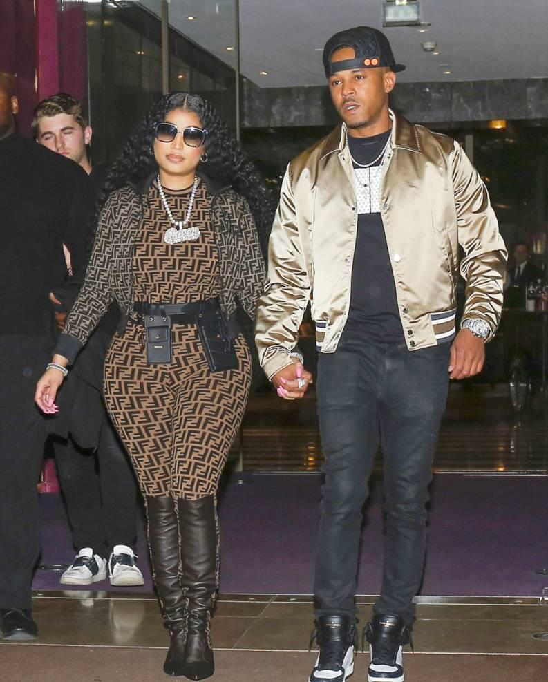 """Kenneth Petty Weddign """"data-caption ="""" Nicki Minaj and her boyfriend Kenneth Petty """"data-source ="""" @ hollywoodlife.com"""
