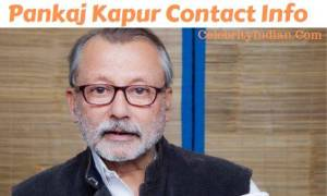 Pankaj Kapur House Address, Phone Number, Email Id, Contact Address