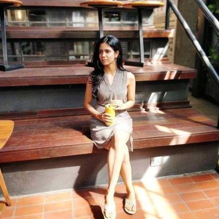The sister of Abhishek Upmanyu
