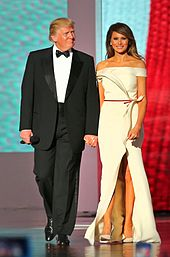 Melania Trump Third wife of 45th President of United States Donald Trump