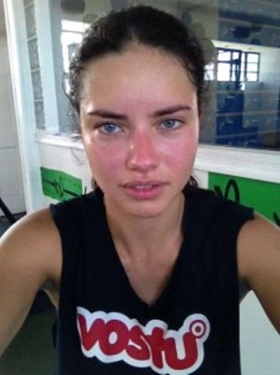 Adriana Lima No Makeup Pictures