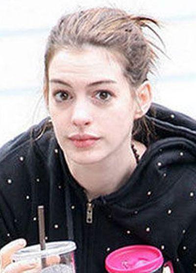 Anne Hathaway No Makeup